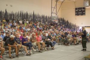 Community meeting in Montana