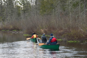 Canoeing on the Brule River State Forest.