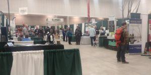 WAA exhibit hall
