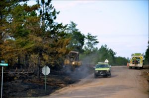 Germann Road Fire Photo