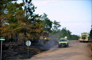 Germann Road Fire Photo