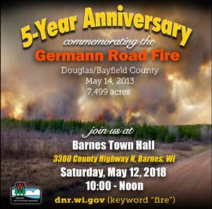 5-Year Anniversary commemorating the Germann Road FIre