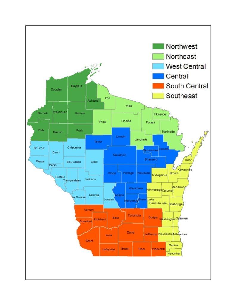 Restructured Forest Health zones