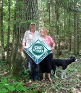 Tree Farmers Dale and Cathy Paulson