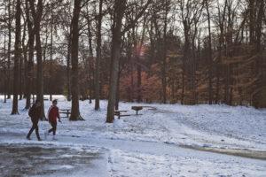 outdoor winter exercise