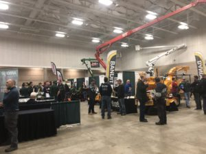 exhibit hall at WAA/DNR conference